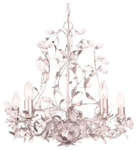 calisson lustre 5 lumi res acier patin d52cm. Black Bedroom Furniture Sets. Home Design Ideas