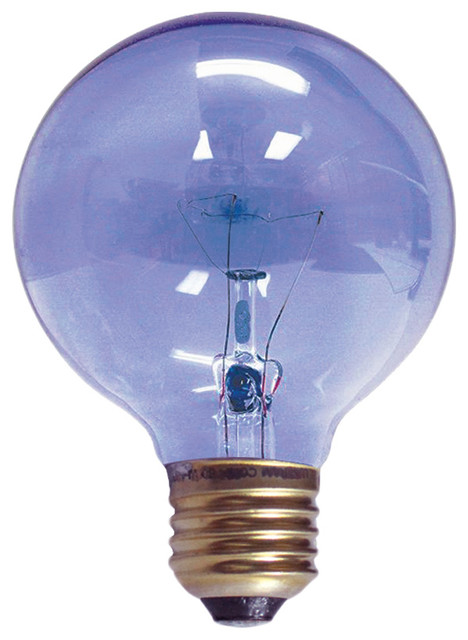 Chromalux Full Spectrum G25 Cl 40w Incandescent Bulb Traditional Incandescent Bulbs By