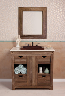 Chardonnay Vanity By Native Trails Traditional