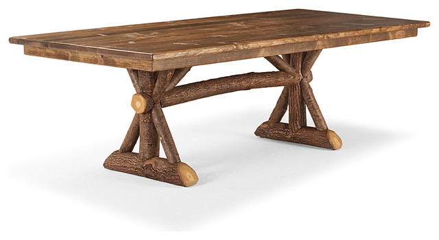 Rustic dining table 3500 by la lune collection rustic for Dining room tables milwaukee