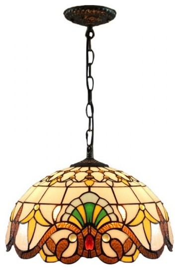 16 Tiffany Style Stained Glass Victorian Ceiling Lighting