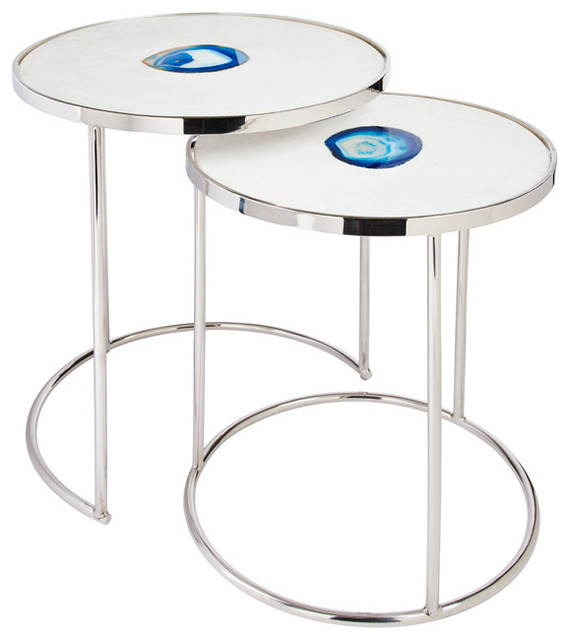 Nesting tables side tables and end tables other metro for Coffee tables homesense