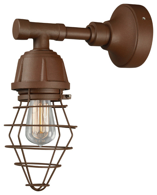 Wall Sconce Copper Clay Farmhouse Wall Sconces by ANP Lighting