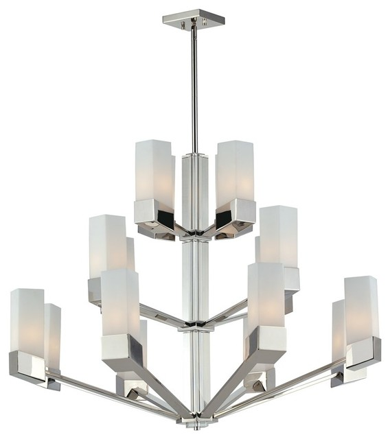 Chrome Contemporary Lighting Chandeliers