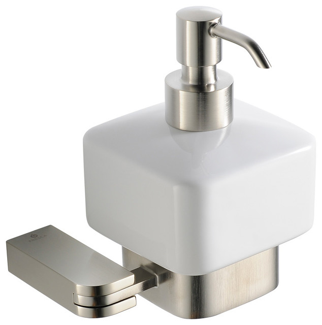 Fresca Solido Lotion Dispenser Wall Mount Brushed