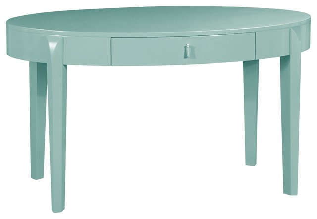 Bungalow 5 brigitte light blue desk contemporary desks for Bungalow 5 desk