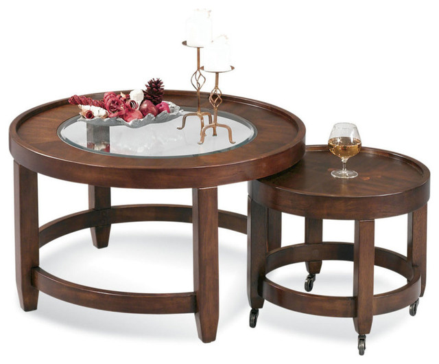 Bassett Mirror 8081 120c Modular Mates Nesting Cocktail Table Contemporary Coffee Tables