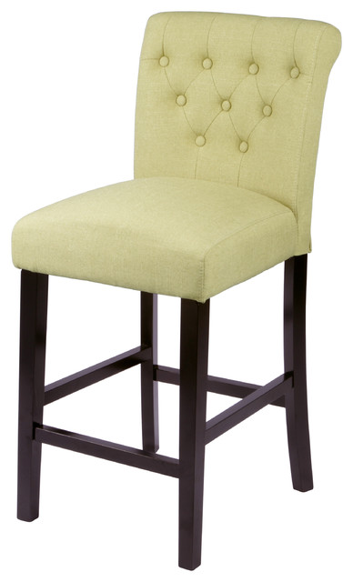 Sopri Apple Green Counter Chairs Set Of Two Bar Stools