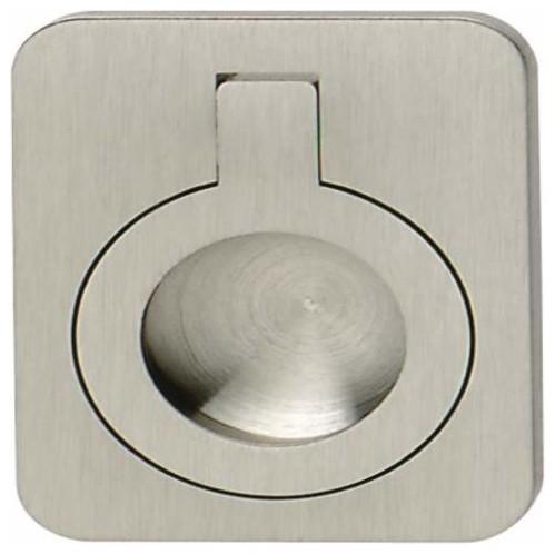 Hafele: Handle: Brass: Nickel Brushed: 47 X 60mm - Cabinet ...