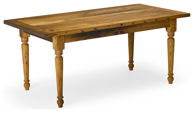 Reclaimed Chestnut Piedmont Table by Vermont Farm Table  : traditional dining tables from www.houzz.com size 640 x 372 jpeg 41kB