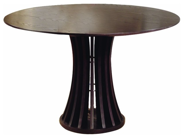 Aziz Round Dining Table Modern Dining Tables By Inmod