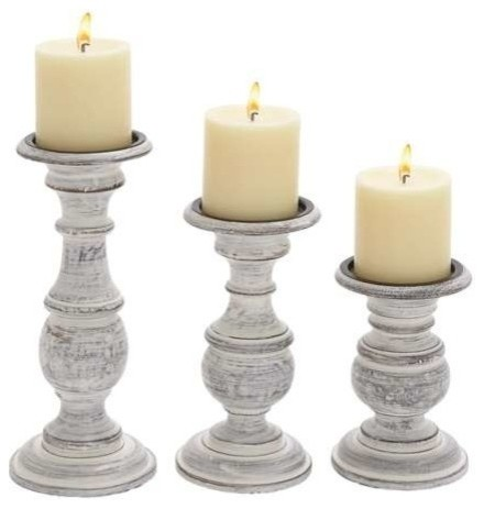 shortie wooden candleholders set of 3 candleholders With kitchen colors with white cabinets with elegant votive candle holders