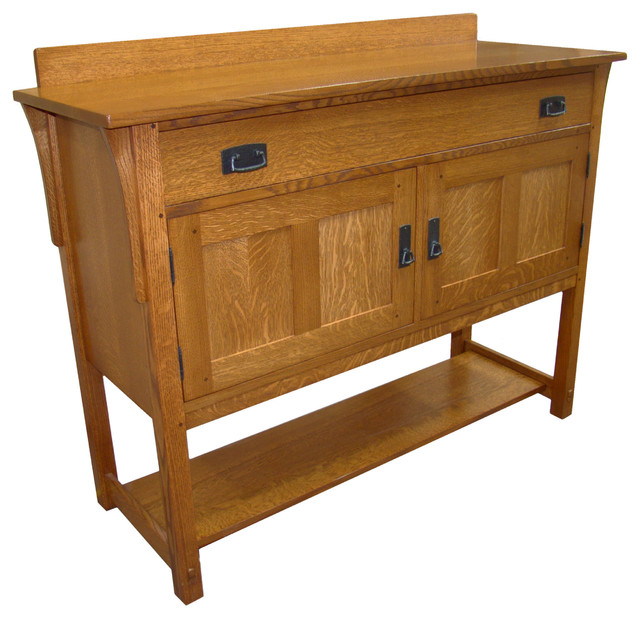 Mission Sideboard - Craftsman - Buffets And Sideboards - by Taylor ...