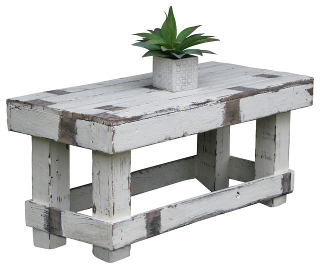 Noah Farmhouse Coffee Table White Rustic Coffee Tables by Doug and Cri