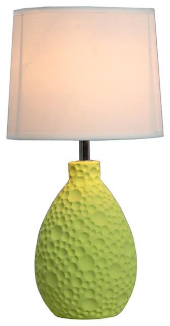 simple designs living room bedroom ceramic oval table lamp