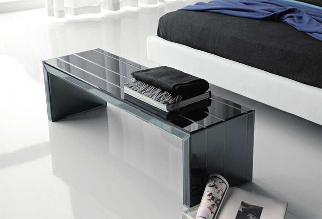 portofino modern bench by cattelan italia moderne banc de jardin par spacify inc. Black Bedroom Furniture Sets. Home Design Ideas