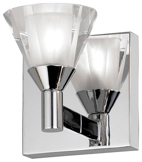crystal sconce modern bathroom vanity lighting by lighting