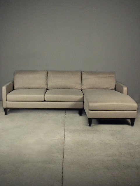Framed Sectional Taupe Eclectic Sectional Sofas