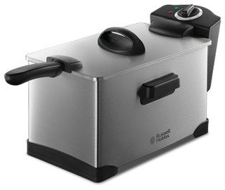 3 litre professional deep fryer stainless steel by russell. Black Bedroom Furniture Sets. Home Design Ideas