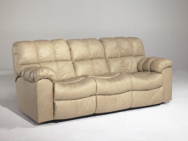 Signature Designs by Ashley Max Chamois Reclining Sofa  : contemporary sofas from www.houzz.co.uk size 640 x 480 jpeg 47kB