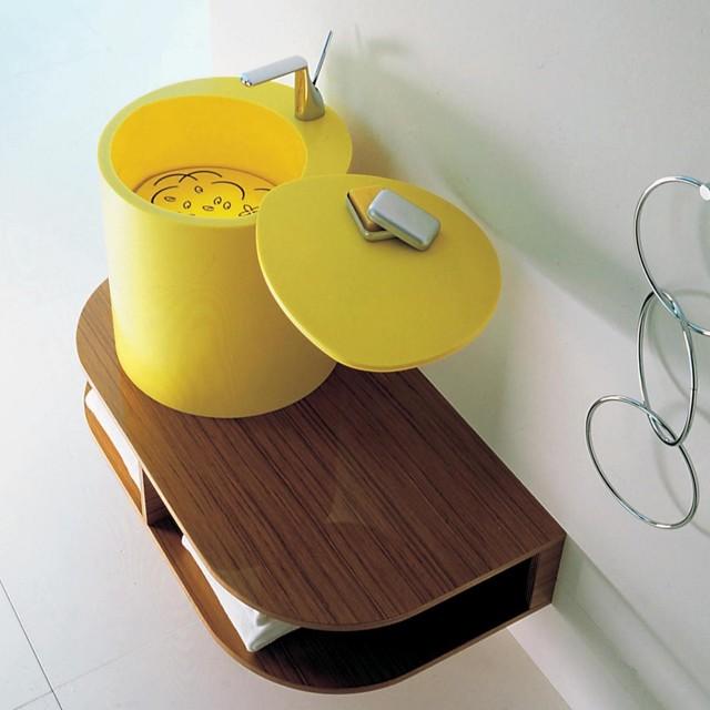 ... BM 113 Yellow Sink - Contemporary - Bathroom Sinks - by Modo Bath