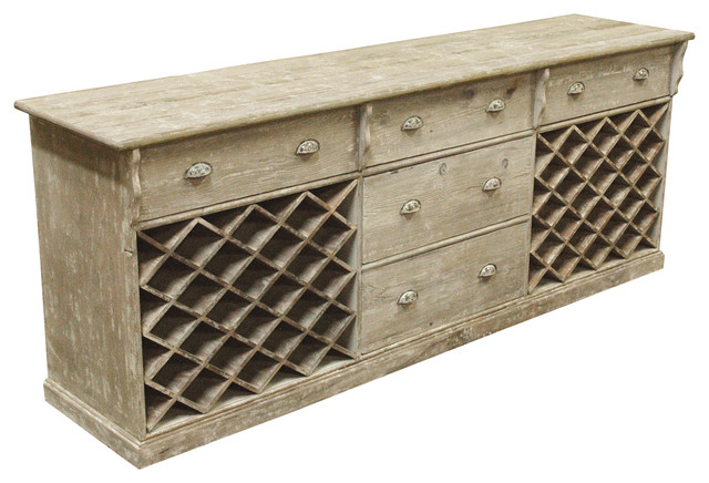 ... Parlor Large Wine Cabinet Sideboard traditional-storage-cabinets