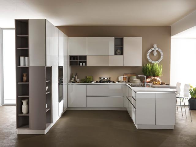 Le cucine astra contemporary miami by home design for Houzz cucine