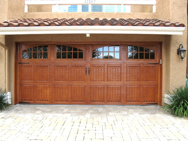 Amarr class tuscany siene windows garage door for Garage door refacing