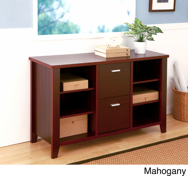 Furniture of America Contemporary Key Performance Multi-storage File ...