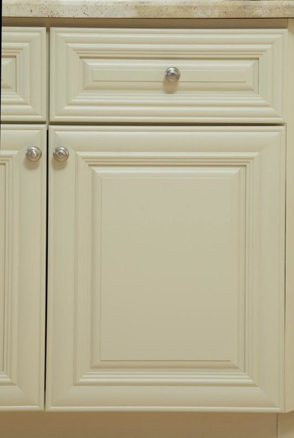 B.Jorgsen & Co. Victoria Ivory Kitchen Cabinets - detroit - by Cabinets To Go