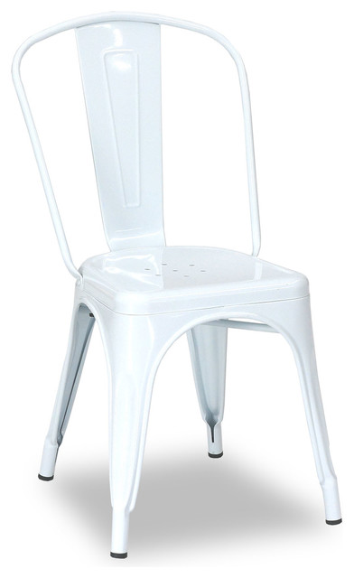 Tolix chair white modern dining chairs brisbane by for Modern dining chairs australia