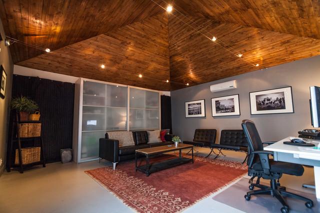 Garage Studio Conversion Transitional Los Angeles
