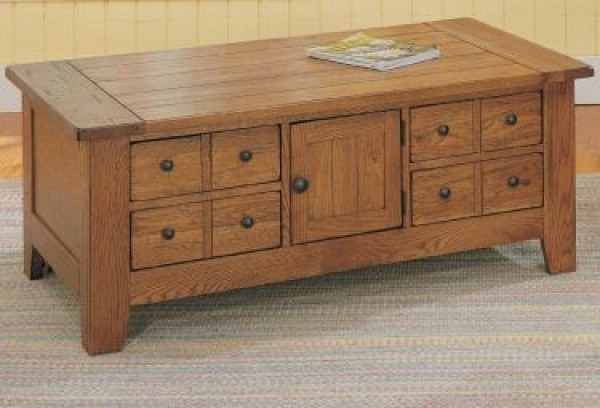broyhill attic heirloom coffee table 1