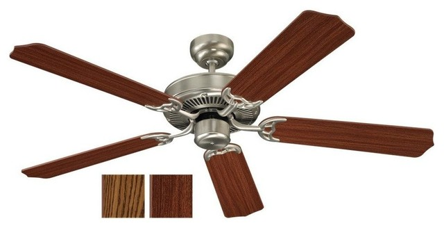 Quality Max Indoor Ceiling Fans in Brushed Nickel