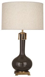 robert abbey athena table lamp te992 modern table lamps by