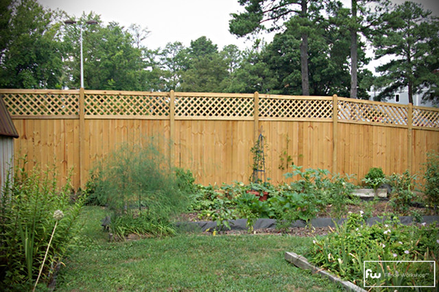 The Dublin Wood Privacy Fence Home Fencing And Gates