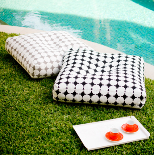 Floor Cushions Contemporary Outdoor Decor by