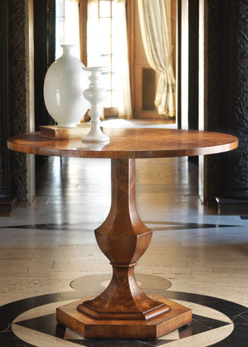 Modern History Home Walnut Center Table Modern Dining Tables By Layla Grayce