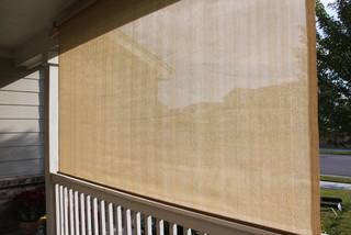 Exterior Solar Screen Shades Or Porch Shades Modern Roller Blinds Phoen