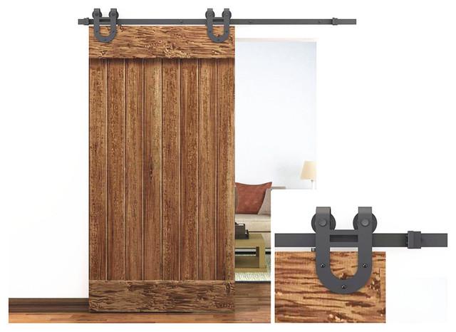 Sliding Barn Door Hardware - Contemporary - Barn Door Hardware - Other ...