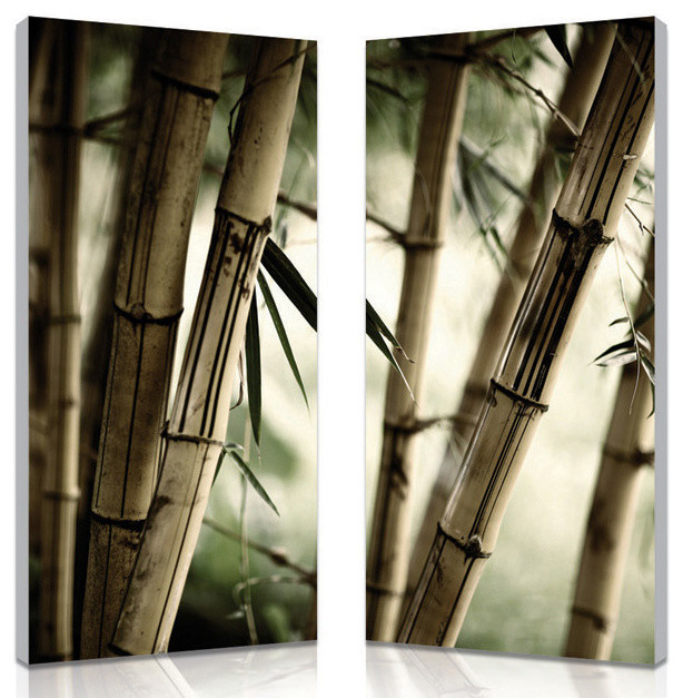Bamboo stalks mounted photography print dipty for Dipty candles
