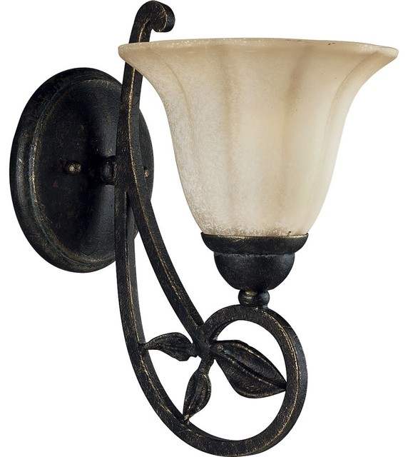 Jardin Wall Lights : Progress Lighting Le Jardin Traditional Wall Sconce X-48-2103P - Traditional - Wall Lights - by ...