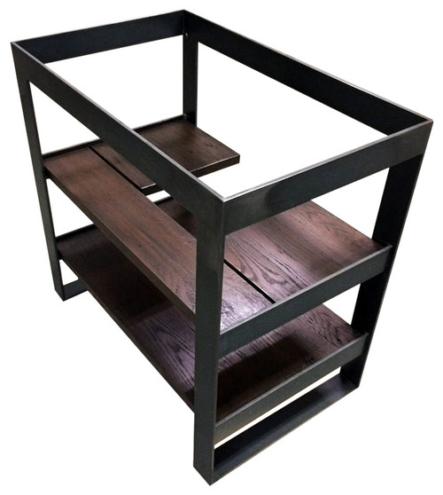 metal frame for vanity