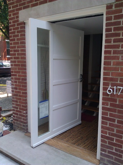 Pivot Door Contemporary Front Doors Philadelphia