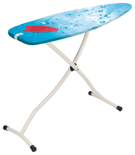 Brabantia Ironing Table, Silicone Pad, Ivory Frame, Ice Water Cover - Modern - Ironing Boards ...