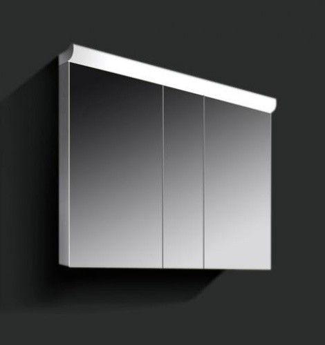Cello 39 1000mm mirror cabinet modern medicine cabinets for Bathroom mirror cabinets 900mm and 1000mm
