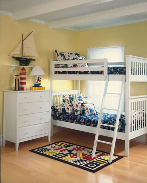 Catalina Bunk Bed Modern Bunk Beds By Rosenberry Rooms