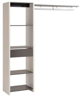 duo kit d 39 am nagement de placard modulable contemporain armoire et dressing par alin a. Black Bedroom Furniture Sets. Home Design Ideas