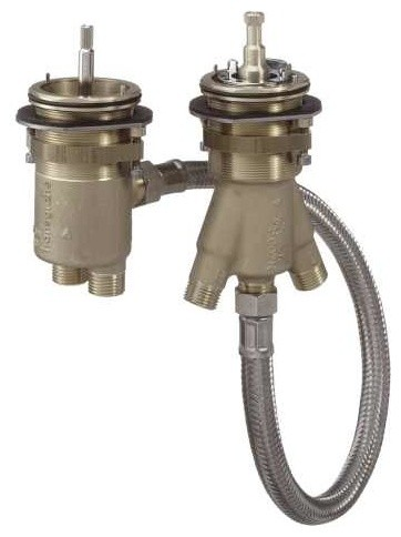 Axor Rough Thermostatic Tub Filler Traditional Tub And Shower Parts By