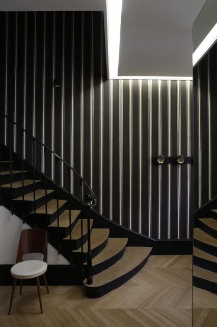 Hotel particulier paris moderno other metro de - Disenador de interiores online ...